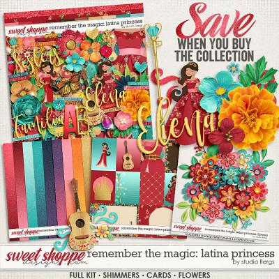 Remember the Magic: LATINA PRINCESS- COLLECTION & *FWP* by Studio Flergs