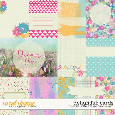 Delightful Cards by Amber Shaw and Studio Basic