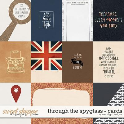 Through the spyglass - cards by WendyP Designs