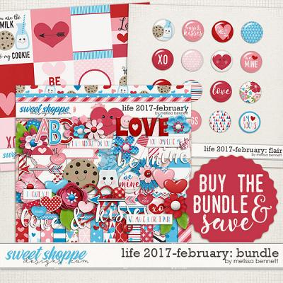 Life 2017-February Bundle by Melissa Bennett