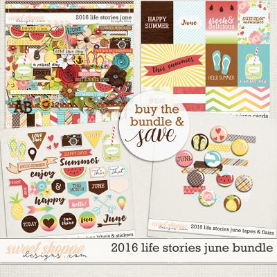 2016 Life Stories - June Bundle by Sugary Fancy