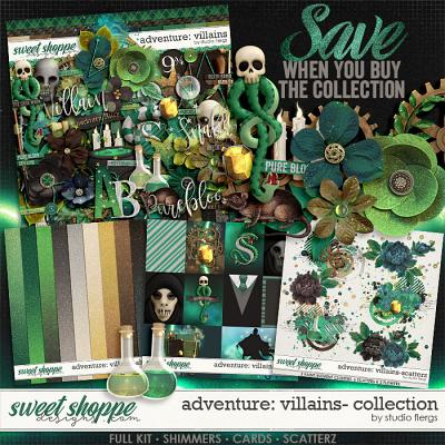 Adventure: Villains- COLLECTION & *FWP* by Studio Flergs