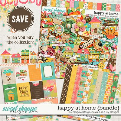 Happy at Home - Bundle by Blagovesta Gosheva & Red Ivy Design