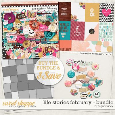 2016 Life Stories - February Bundle by Sugary Fancy
