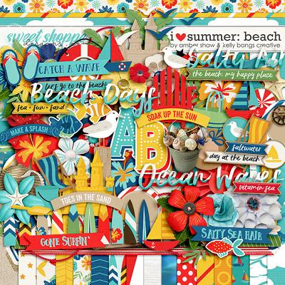 I Heart Summer: Beach  by Amber Shaw & Kelly Bangs