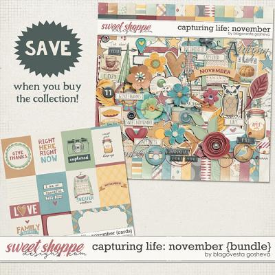 Capturing Life: November {Bundle} by Blagovesta Gosheva