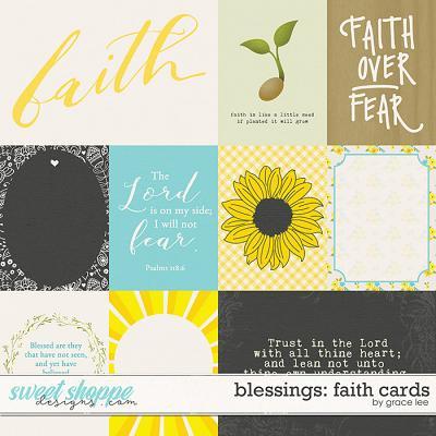 Blessings: Faith Cards by Grace Lee