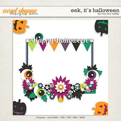 Eek, It´s Halloween by Two Tiny Turtles