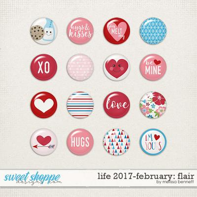 Life 2017-February Flair by Melissa Bennett