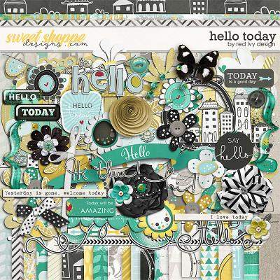 Hello Today by Red Ivy Design