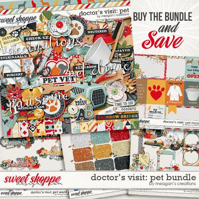 Doctor's Visit: Pet Collection Bundle by Meagan's Creations