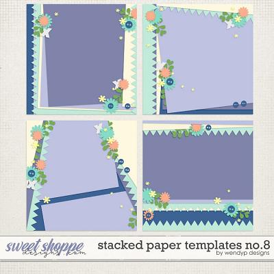 Stacked paper templates No:8 by WendyP Designs