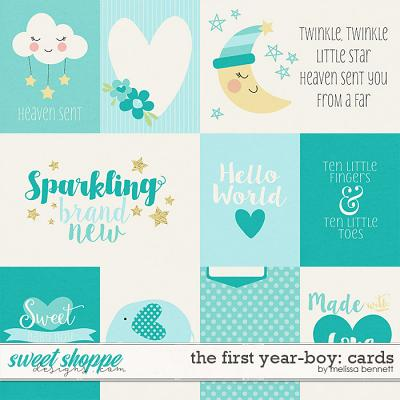 The First Year-Boy: Cards by Melissa Bennett