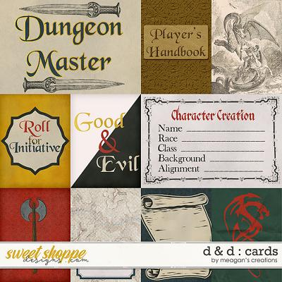 D & D : Cards by Meagan's Creations