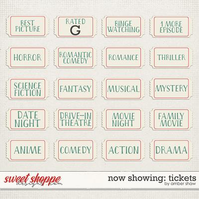 Now Showing: Tickets by Amber Shaw