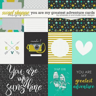 You Are My Greatest Adventure: Cards by Amanda Yi & Studio Basic Designs