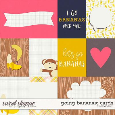 Going Bananas: Cards by Amanda Yi