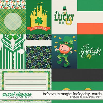 Believe in Magic: Lucky Day Cards by Amber Shaw & Studio Flergs