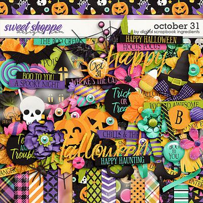 October 31 by Digital Scrapbook Ingredients
