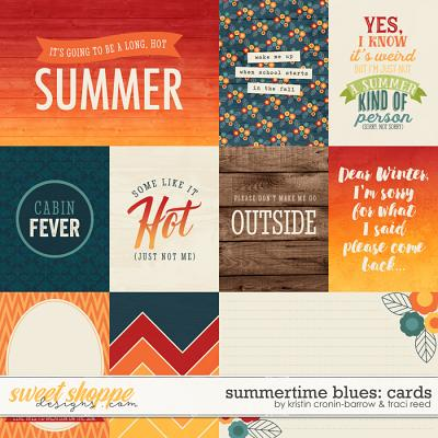 Summertime Blues: Cards by Traci Reed and Kristin Cronin-Barrow