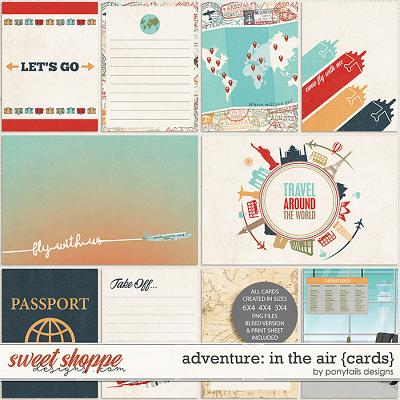 Adventure: In the Air Pocket Cards by Ponytails