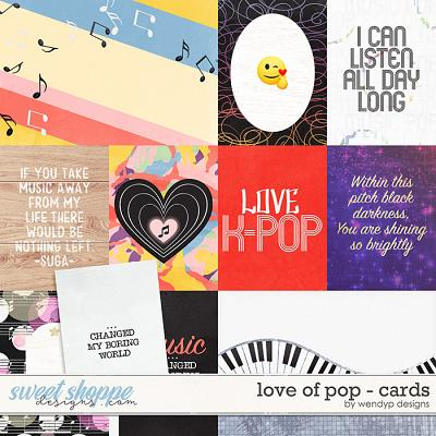 Love of pop - cards by WendyP Designs