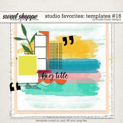 Studio Favorites: Templates #16 by Studio Basic