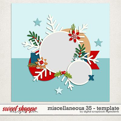 Miscellaneous 35 Template by Digital Scrapbook Ingredients