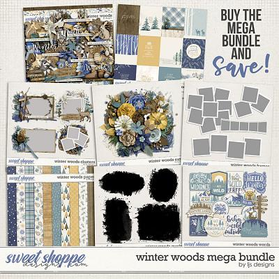 Winter Woods Mega Bundle by LJS Designs