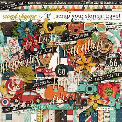Scrap Your Stories: Travel by Studio Flergs & Kristin Cronin-Barrow