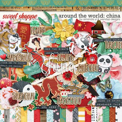 Around the world: China by Amanda Yi & WendyP Designs