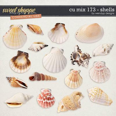 CU Mix 173 - Shells by WendyP Designs