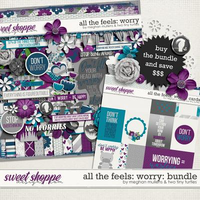 All The Feels: Worry-Bundle by Two Tiny Turlles & Meghan Mullens