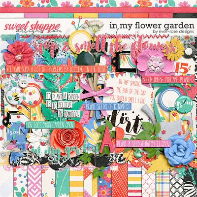 In My Flower Garden Kit by River Rose Designs