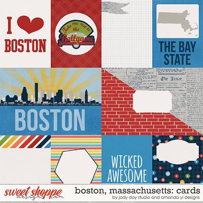 Boston, Massachusetts : Cards by Jady Day Studio & Amanda Yi