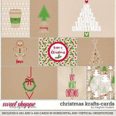 Christmas Krafts-Card Pack by Meghan Mullens