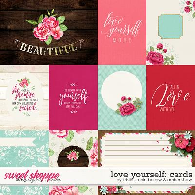Love Yourself: Cards by Amber Shaw & Kristin Cronin-Barrow