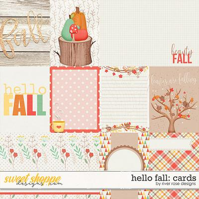 Hello Fall: Cards by River Rose Designs