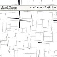 EZ Albums v.9 Stitches by Erica Zane