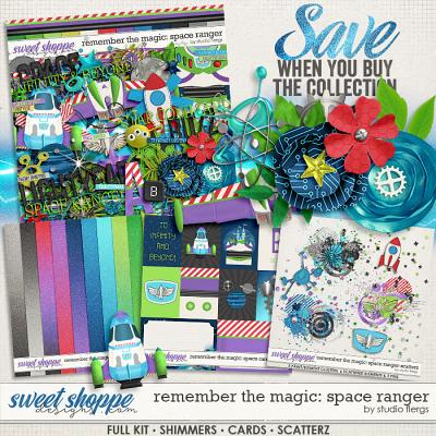Remember the Magic: SPACE RANGER- COLLECTION & *FWP* by Studio Flergs
