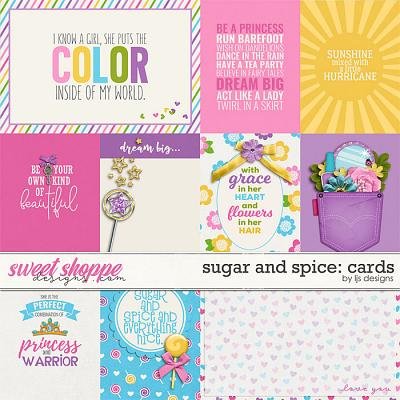 Sugar and Spice: Cards by LJS Designs