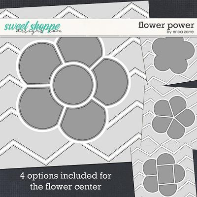Flower Power Template by Erica Zane