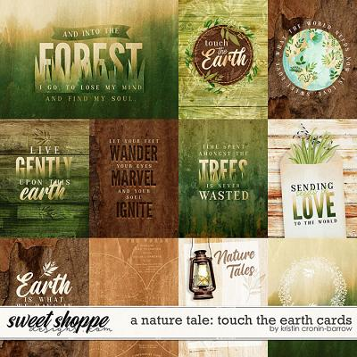 A Nature Tale: Touch the Earth Cards by Kristin Cronin-Barrow