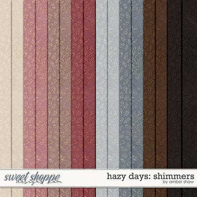 Hazy Days: Shimmers by Amber Shaw