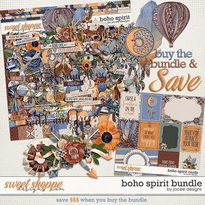 Boho Spirit Bundle by JoCee Designs