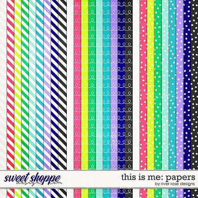 This is Me: Papers by River Rose Designs
