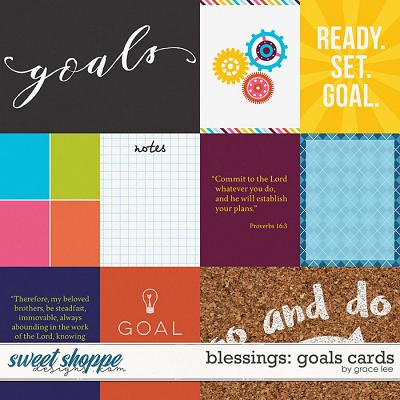 Blessings: Goals Cards by Grace Lee