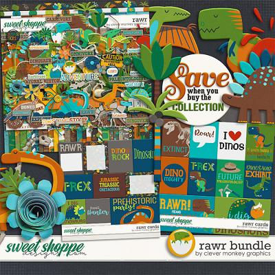 Rawr Bundle by Clever Monkey Graphics