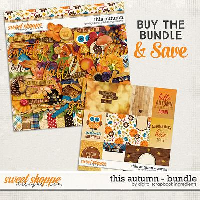 This Autumn Bundle by Digital Scrapbook Ingredients