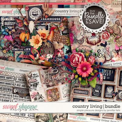 country living bundle: simple pleasure designs by jennifer fehr